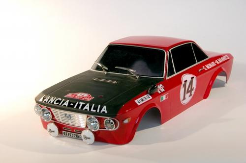 Lancia Fulvia HF 1600 Karo (lack/Decals) LRP TRL106