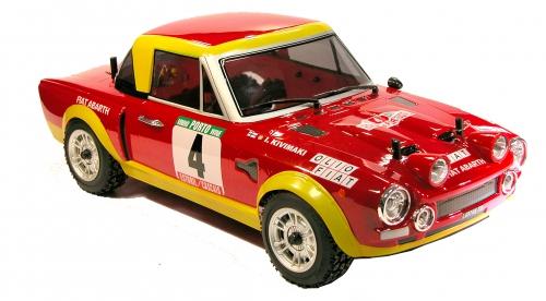 Fiat 124 Abarth Karo (lack/Decals) LRP TRL108