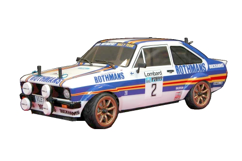Ford Escort RS Karo Rothm. (lack/Decals) LRP TRL109