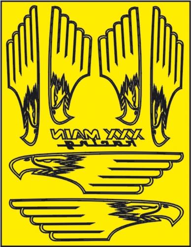 Screaming Eagle Lackierschablone LRP XM059L