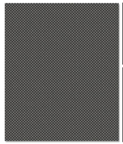 Kohlefaserdesign Aufkleber (20x28cm) LRP XV003C