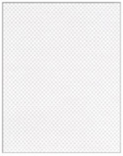 Weisses Kohlefaser Aufkleber (20x28cm) LRP XV018C
