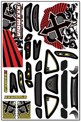 Xplosion Touring X-Wrapz (gelb) LRP XW004Y