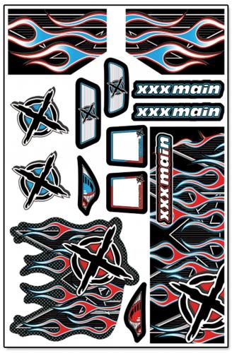 Ignite Truggy X-Wrapz (rot) LRP XW005R