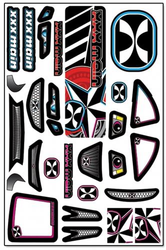 Darkstar Touring X-Wrapz (grau/pink) LRP XW012P