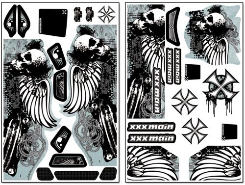 Reaper Truggy X-Wrapz (zyan) LRP XW013C