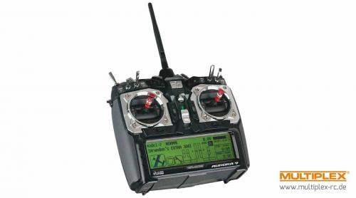 Aurora 9 2,4 GHz mit Optima 9 englisches Menü Hitec 110163