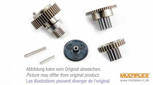 Getriebesatz für mehr Drehmom Hitec 138033