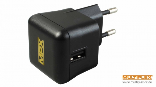 USB Steckerladegerät 100-240VAC Multiplex 145534