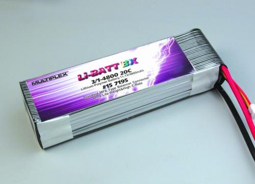 Li-BATT BX 3/1-4800 (für TRAX Multiplex 157195