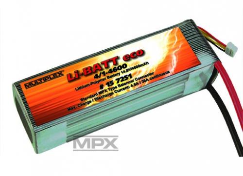 Li-BATT eco 4/1-4600 (M6) Multiplex 157251