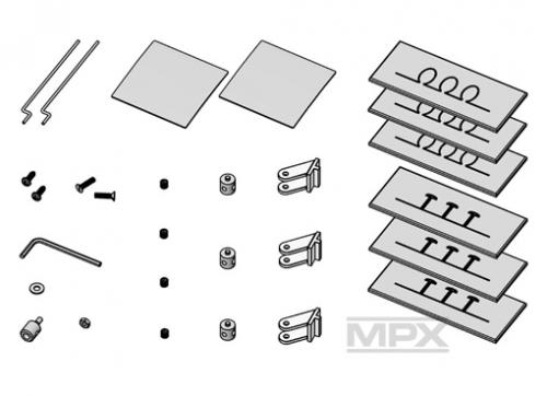 Kleinteilesatz Merlin Multiplex 224103