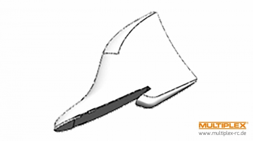 Leitwerke (1Paar) Xeno Multiplex 224107