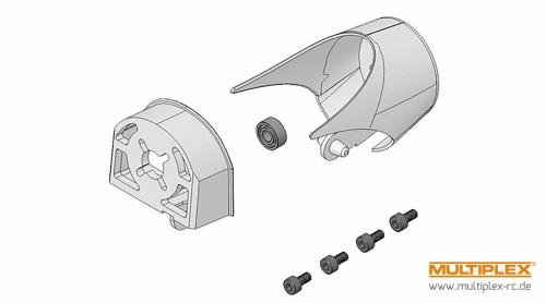 Klein- und Kunststoffteile Antrieb Xeno Multiplex 224111