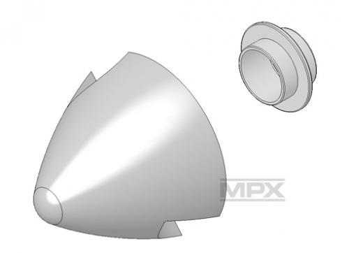 Spinner ELAPOR Ø62mm incl. Halter AcroMaster Multiplex 224207