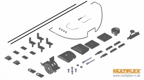 Kleinteilesatz Razzor Multiplex 224261