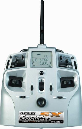 COCKPIT SX M-LINK Einzelsender 2,4GHz Multiplex 45130