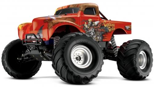 RTR CAPTAINs curse 2WD elec.Monstert. X Traxxas 293600