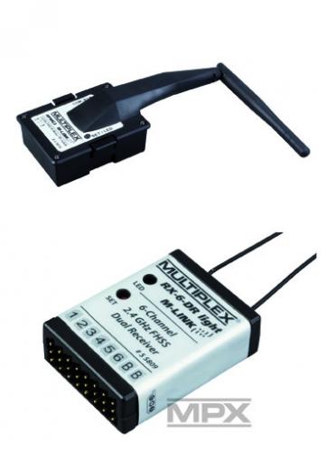 Combo HFMG3 M-LINK mit RX-6- DR light M- Multiplex 45666