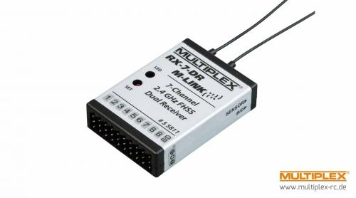 Empfänger RX-7-DR M-LINK 2,4 GHz Multiplex 55811