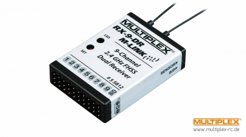 Empfänger RX-9-DR M-LINK 2,4 GHz Multiplex 55812