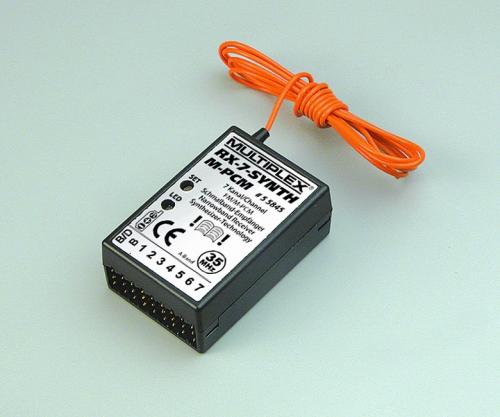 Empfänger RX-7-SYNTH M-PCM 35MHz(A) Multiplex 55845