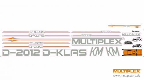 Dekorbogen SOLIUS Multiplex 724630