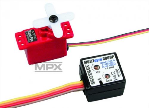 MULTIgyro 300DP mit Nano Pro KARBONITE Multiplex 75504