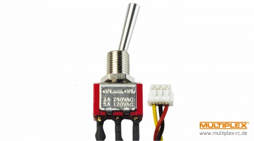 Schalter EIN/AUS/EIN (kurz) f Multiplex 75749