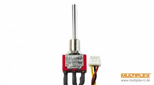 3-Stufen-Schalter EIN/AUS/EINlang (Micr Multiplex 75753