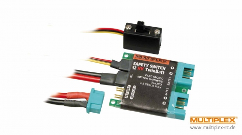 SAFETY-SWITCH 12HV TwinBatt (M6) Multiplex 85010