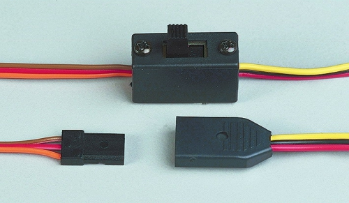 Mini-Schalterkabel (UNI/MP-RC) inkl. Ladebuchse Multiplex 85045