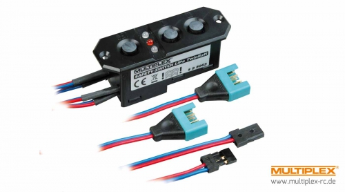 SAFETY-SWITCH LiPo TwinBatt Multiplex 85063