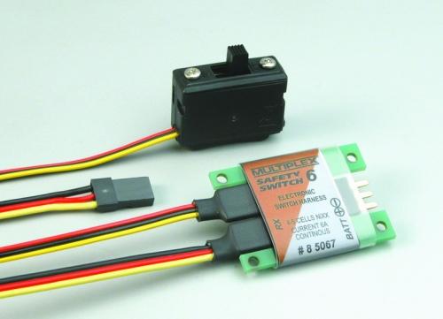 SAFETY-SWITCH 6 (UNI/MP-RC) Multiplex 85067