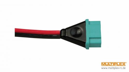 Kabel mit Buchse M6-Stecksystem (0,75mm² Multiplex 85173