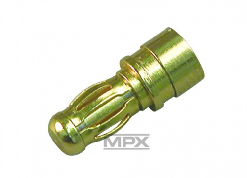 3,5mm Stecker (Gold) 3St. Multiplex 85210