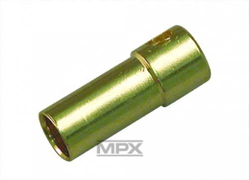 3,5mm Buchse (Gold) 3St. Multiplex 85211