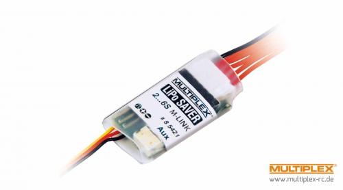 LiPo-Saver Sensor für 6S Zellenüberw. M-LINK Multiplex 85421