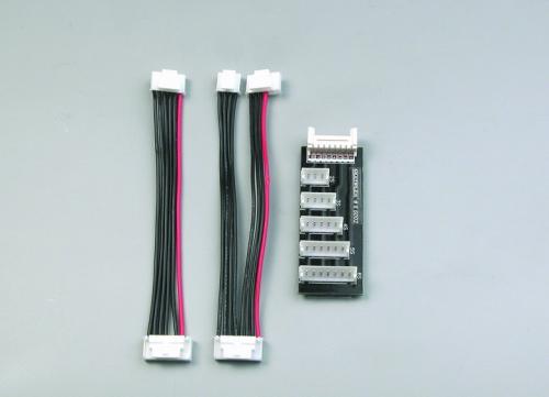 Adaptersatz Graupner/robbe für EQUALIZER 5505 Multiplex 86002