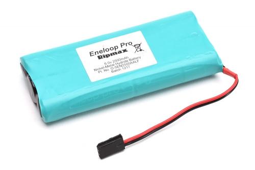 Ripmax 6.0V 2500mAh Eneloop Tx/Rx Pack Flach Panasonic O-5EN2500AALF