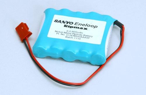 6.0v 800mAh Eneloop Rx Pk Flach Panasonic O-5EN800AAASF