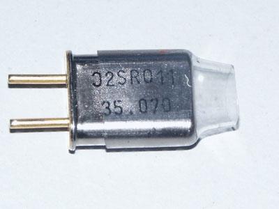 Futaba Kan. 55 (40.725MHz) FM Empf Quarz DS ripmax P-CRR40-55DC