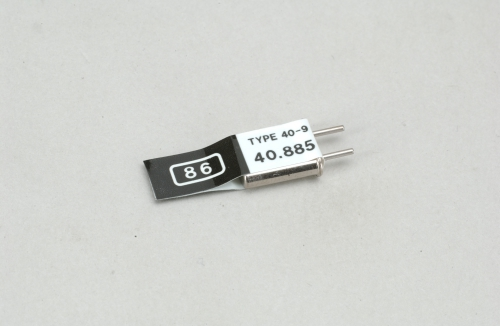 Futaba Kan. 86 (40.885MHz)AM Send Quarz Futaba P-CT40A/88