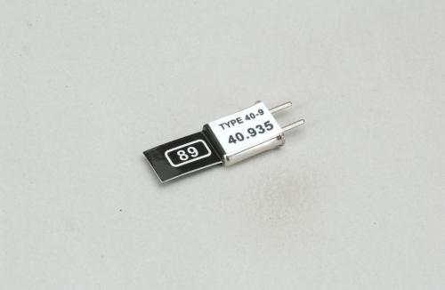Futaba Kan. 89 (40.935MHz)AM Send Quarz Futaba P-CT40A/93