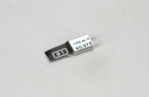 Futaba Kan. 91 (40.975MHz)AM Send Quarz++ Futaba P-CT40A/97