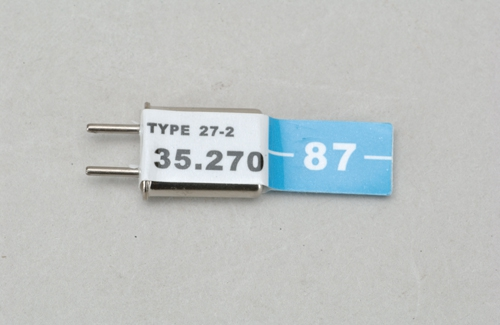 Futaba Ch 287 (35.270)FM Rx Quarz Cirrus(E Cirrus P-CXR35/87