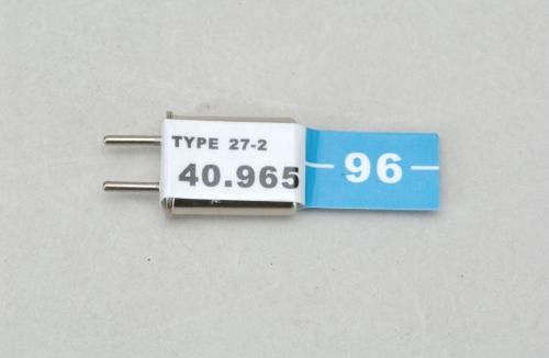 Futaba Ch 90 (40.965)FM Rx Quarz Cirrus Cirrus P-CXR40/96