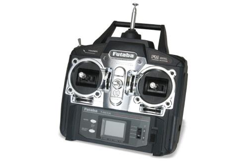Futaba 4ch S3003x3 FM35 (N) MM R136F Futaba P-FP4EXN/L