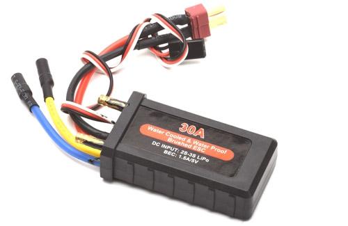 30A Waterproof Brushed ESC w/BEC Joysway P-JS-860109