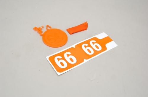Futaba 35MHz Frequenz Fahne Ch 66 Slec P-SL065/66